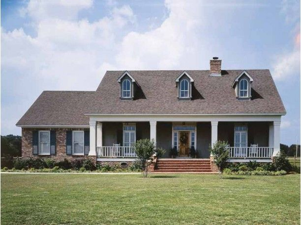 Colonial Style House Plan 3 Beds 2 Baths 1800 Sq Ft Plan 45 123 Country House Plans Low Country Homes Southern Country Homes