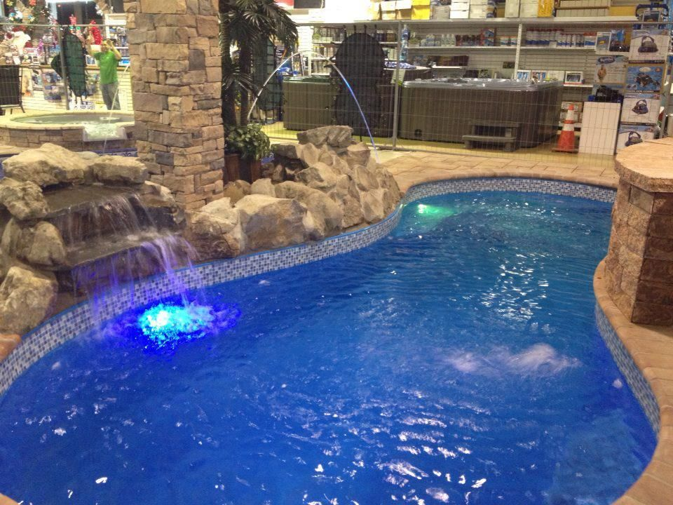Fiberglass Indoor Inground Swimming Pool By Backyard