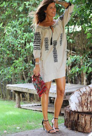 Look by @mytenida1 with #zara #dresses.