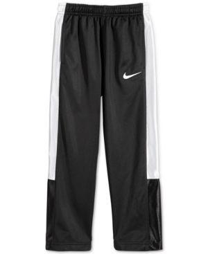 Nike Little Boys' Tricot Pants  - Black 2T