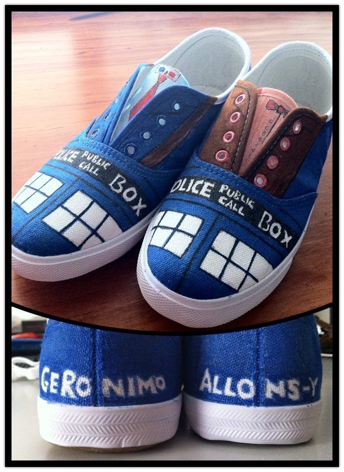 These shoes are cool!  #DoctorWho