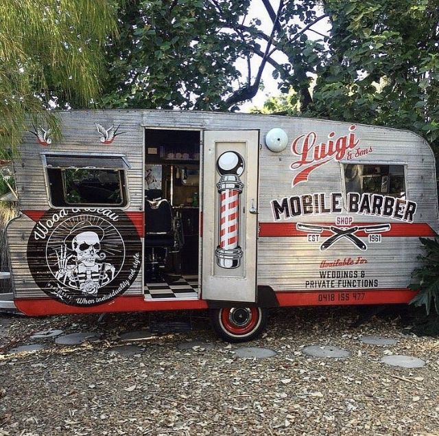 Pin by Tanya Harper on Hair & Beauty Van Barber, Mobile