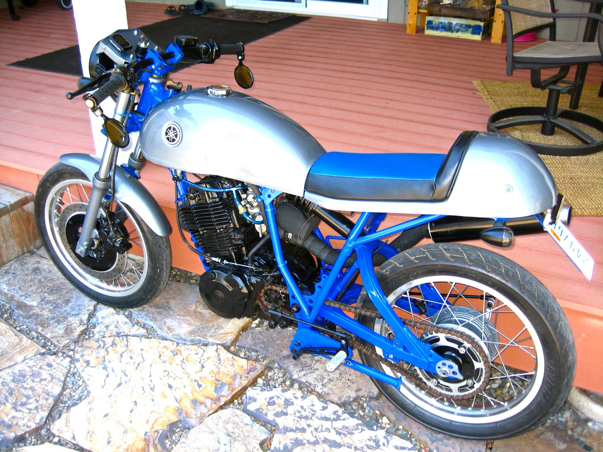 1982 Yamaha XT 550 cafe project by Gary | Cafe ideas | Motorcycle