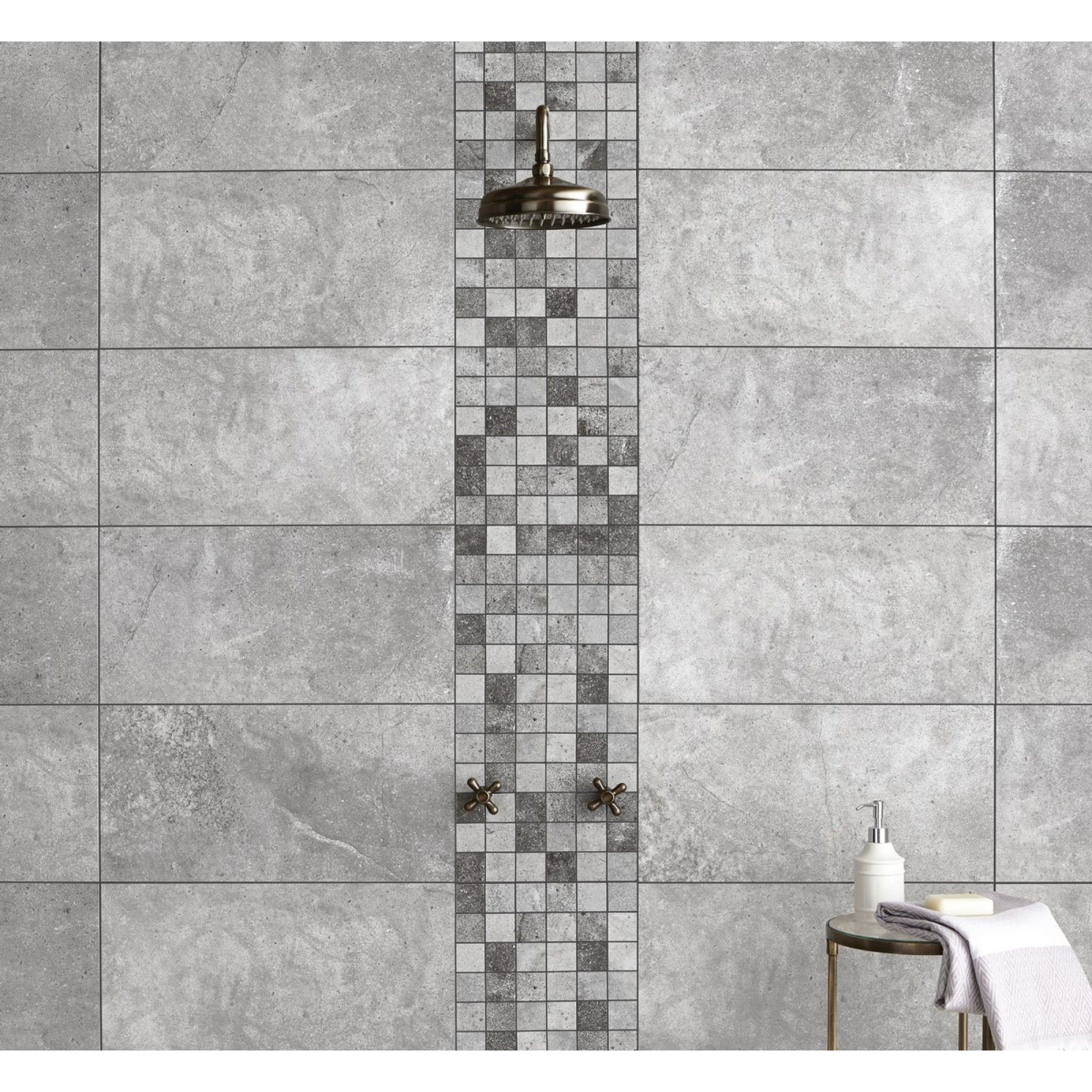 Toscana Silver Rectified Wall And Floor Tile | Silver walls, Walls ...