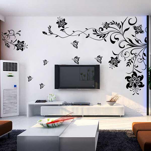 Ideas para decorar la pared de la televisión. | Living rooms and Room