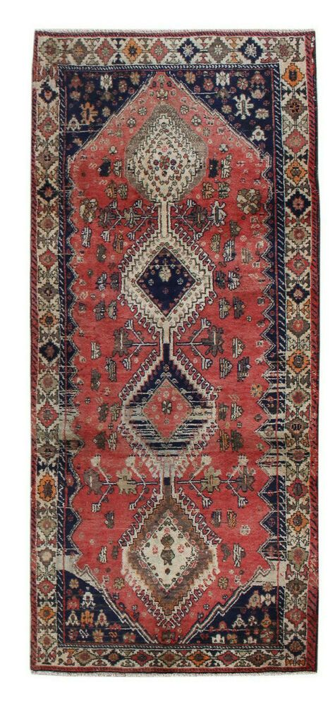 3x7 Oriental Vintage Hand Knotted Traditional Geometric Wool Runner Area Rug Hesamcrafts Traditional In 2020 Geometric Carpet Area Rugs Rugs
