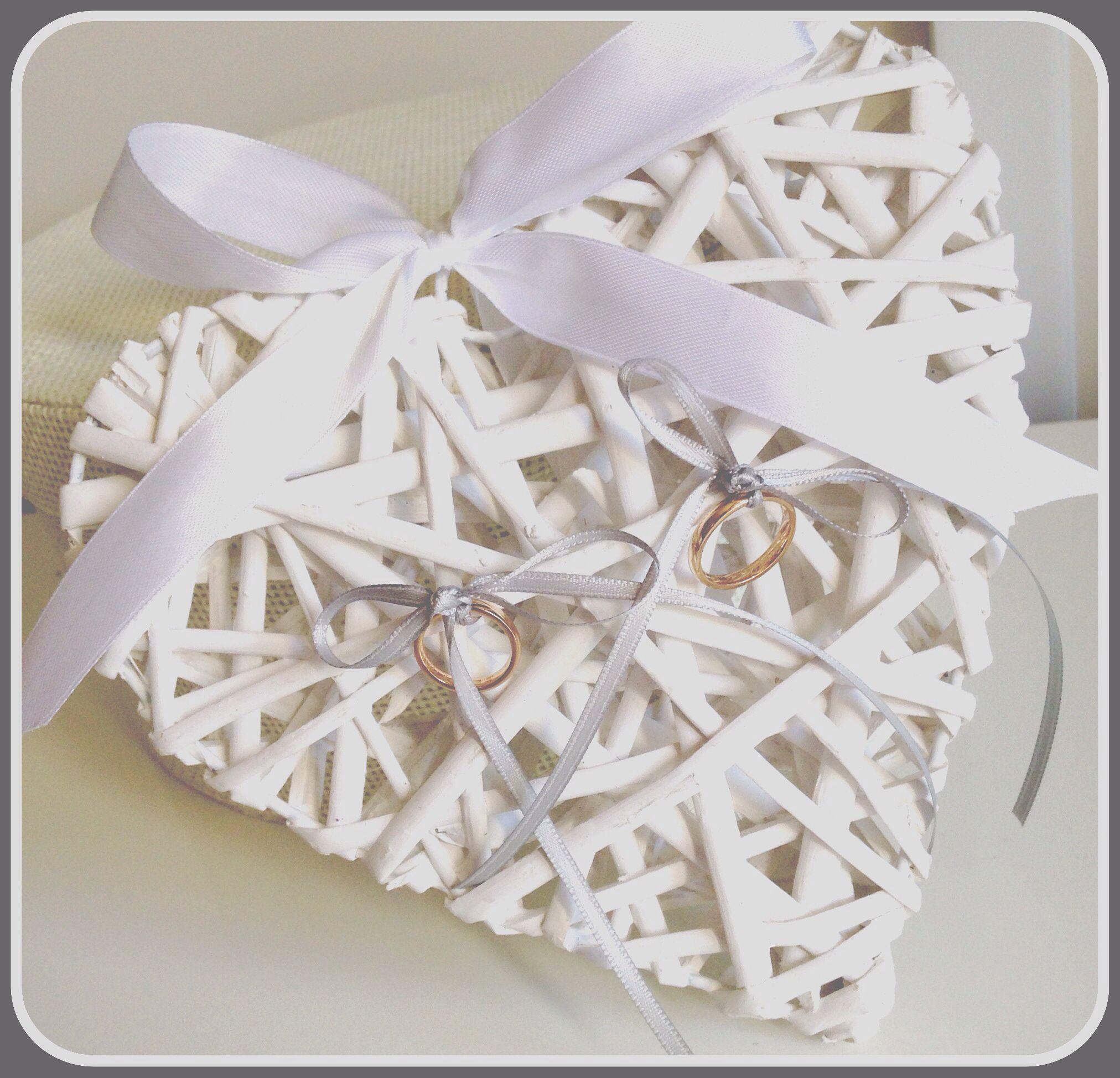 Cuscino porta fedi idea originale faidate wedding nel for Porta anelli fai da te