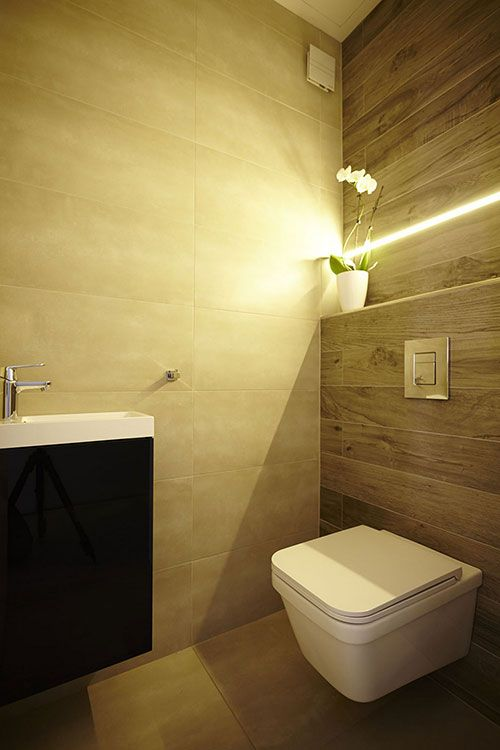 Toilet verlichting idee n home garden bathroom for Indirecte verlichting toilet