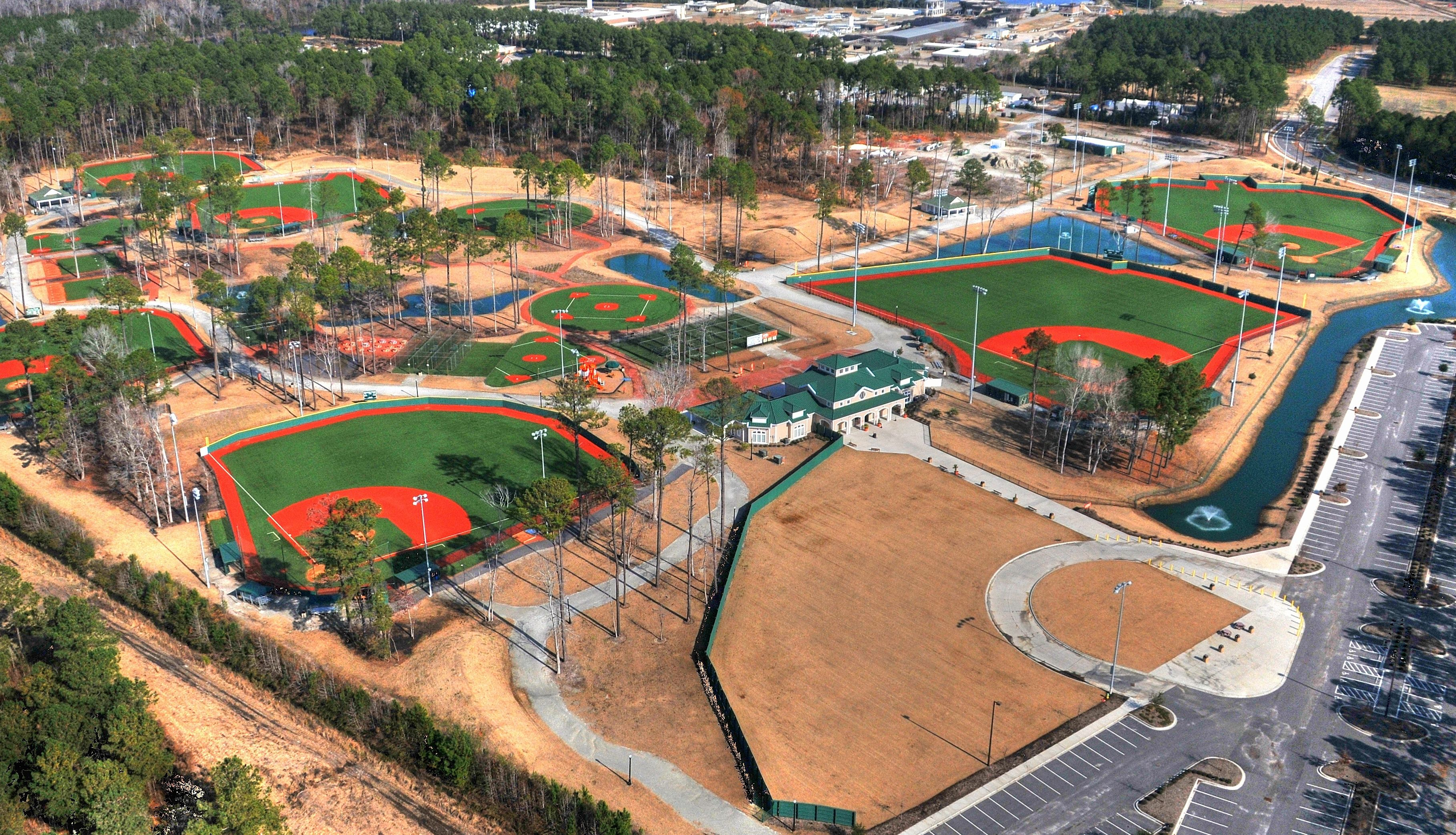 Ripken Fields In Myrtle Beach Are Great For Sports Events And Group