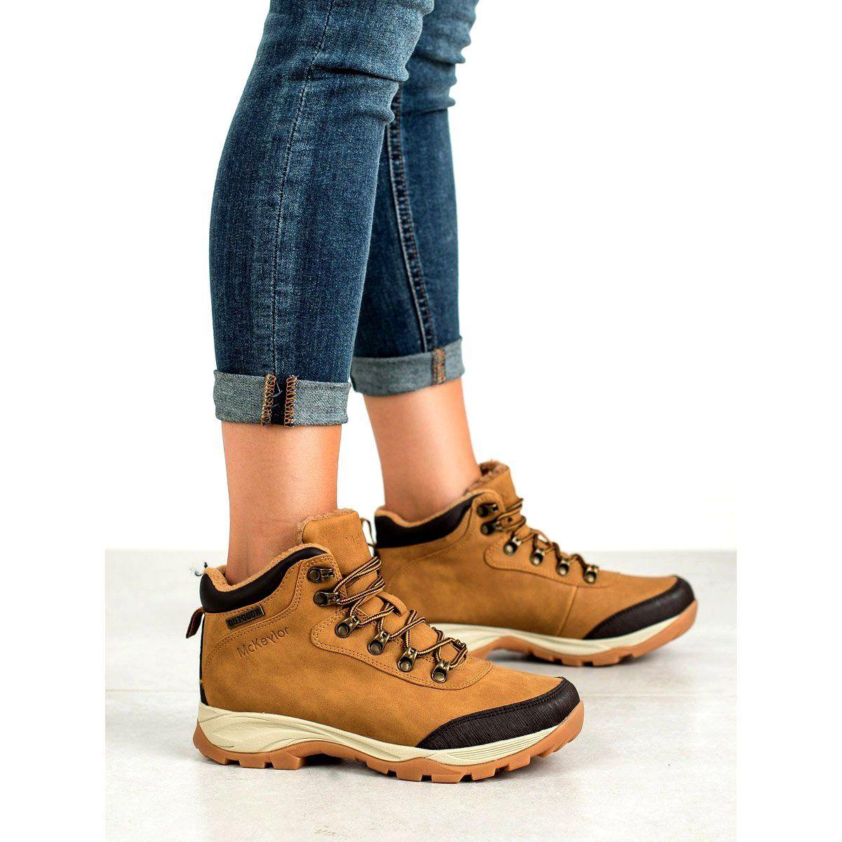 Buty Trekkingowe Mckeylor Brazowe Shoes Women Shoes Trekking Shoes