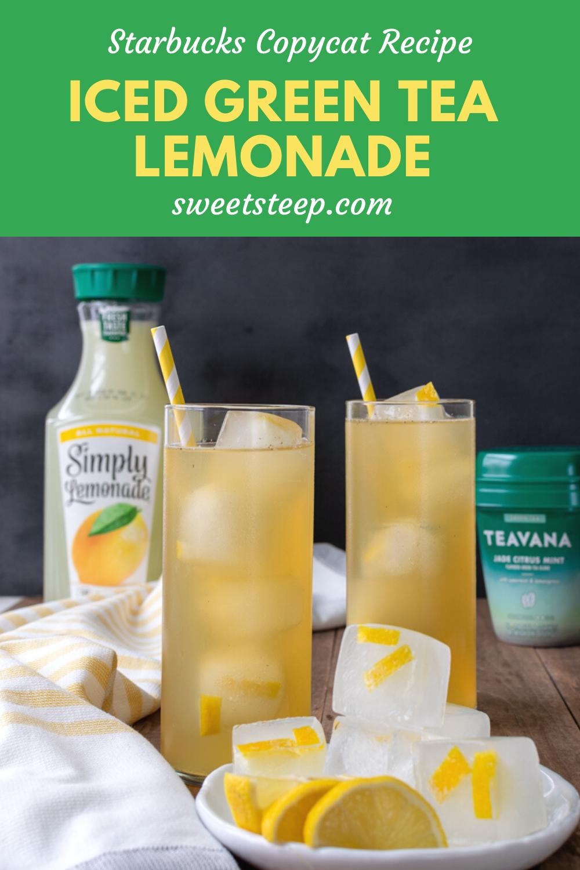 Iced Green Tea Lemonade - Starbucks Recipe