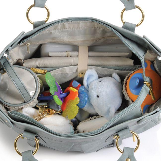 Timi And Leslie Dawn Diaper Bag Tote Cloud Blue Designer Bags Www Duematernityandbaby