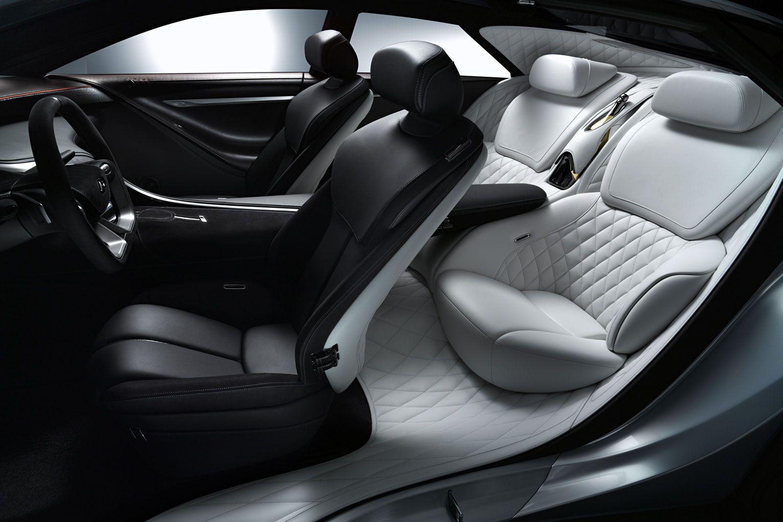 Infiniti Q80 Inspiration Concept Interior Luxury Car Interior