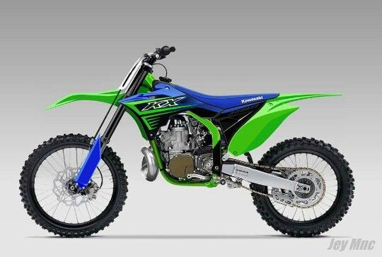 Kx 350 Concept Motorcross Bike Motocross Bikes Kawasaki Dirt Bikes