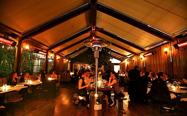 Eveleigh Restaurant In Los Angeles On The Sunset Strip Great For A Family Dinner Or A Rowdy Birth West Hollywood Restaurants Pop Up Restaurant West Hollywood