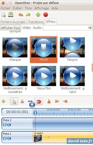 Comment changer le sens d 39 une vid o avec open shot video editor - Changer le sens d une porte ...