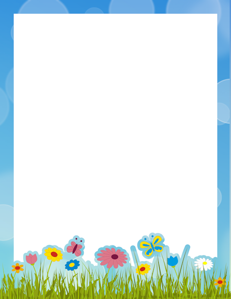 printable spring border free gif jpg pdf and png downloads at http - Spring Pictures To Download