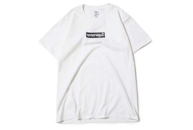 8c46612c7cf21b Have another take on the Supreme Classic box logo with Supreme's black  reverse box logo shirt! #Supreme #classic #reverse #plain Add this to your  wardrobe!