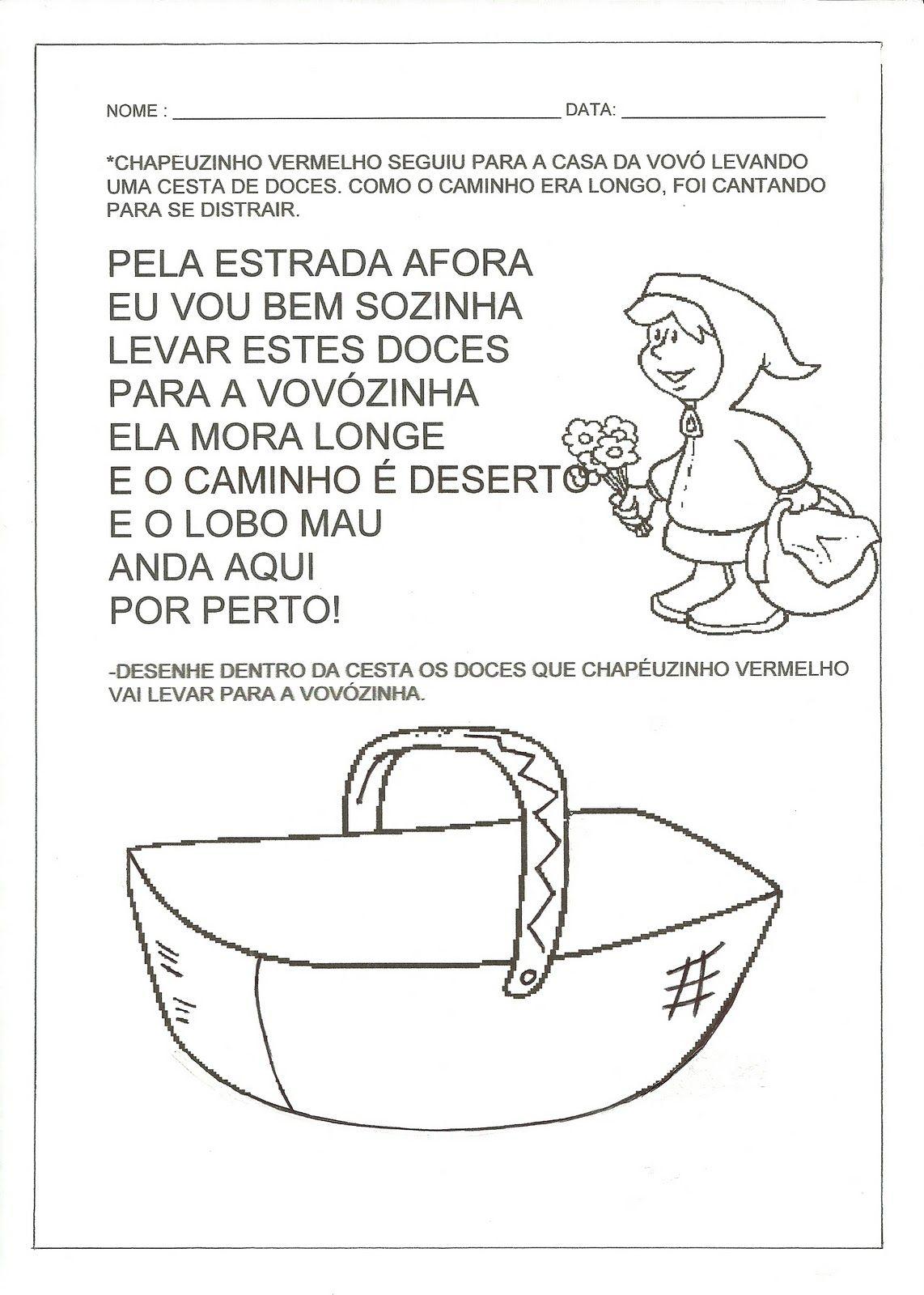 Pin De Maria Do Em Linguagem Com Imagens Atividades