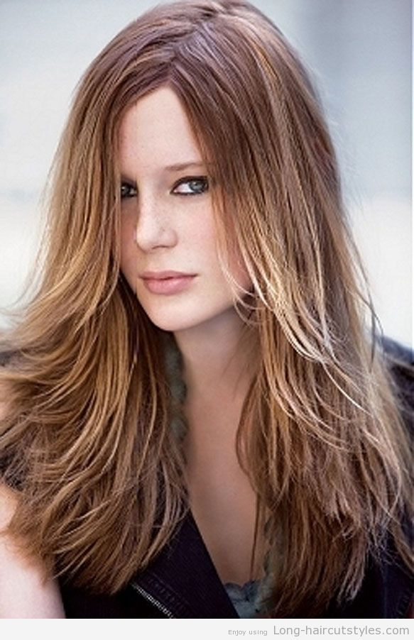 Layered Hairstyles For Long Hair With Side Fringe 2014 Hair Styles