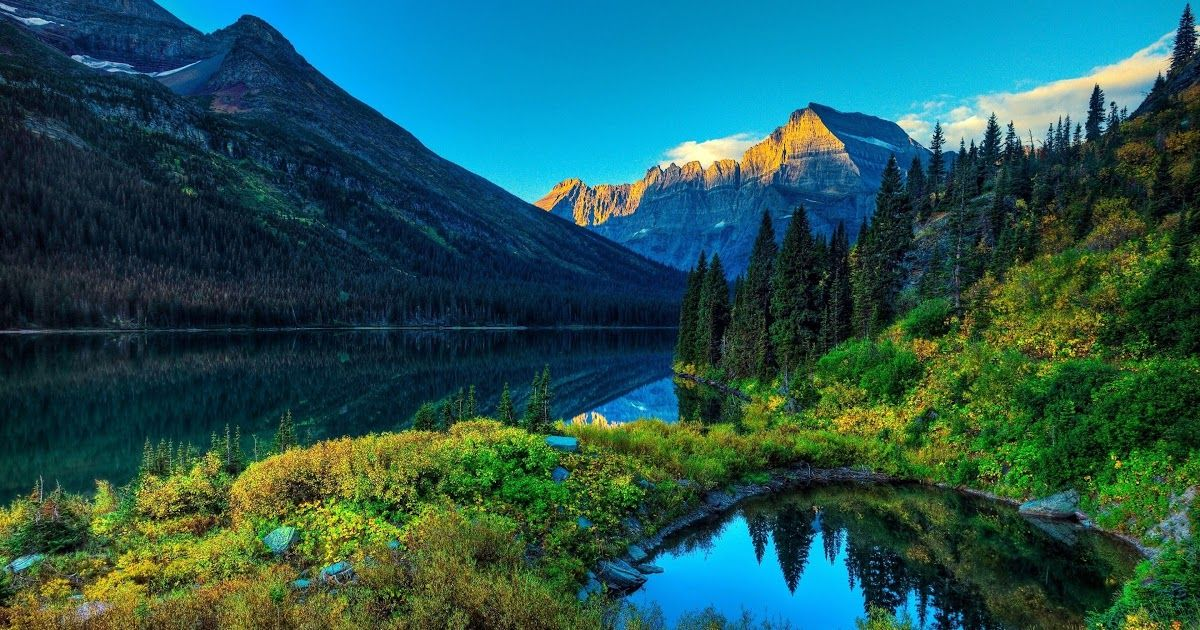 29 4k Wallpaper Nature Blue Download Best Wallpapers Of Nature Landscapes Waterfalls Beautiful Lakes Bea In 2021 Landscape Wallpaper Cool Landscapes Landscape Photos Best spring landscape hd wallpapers