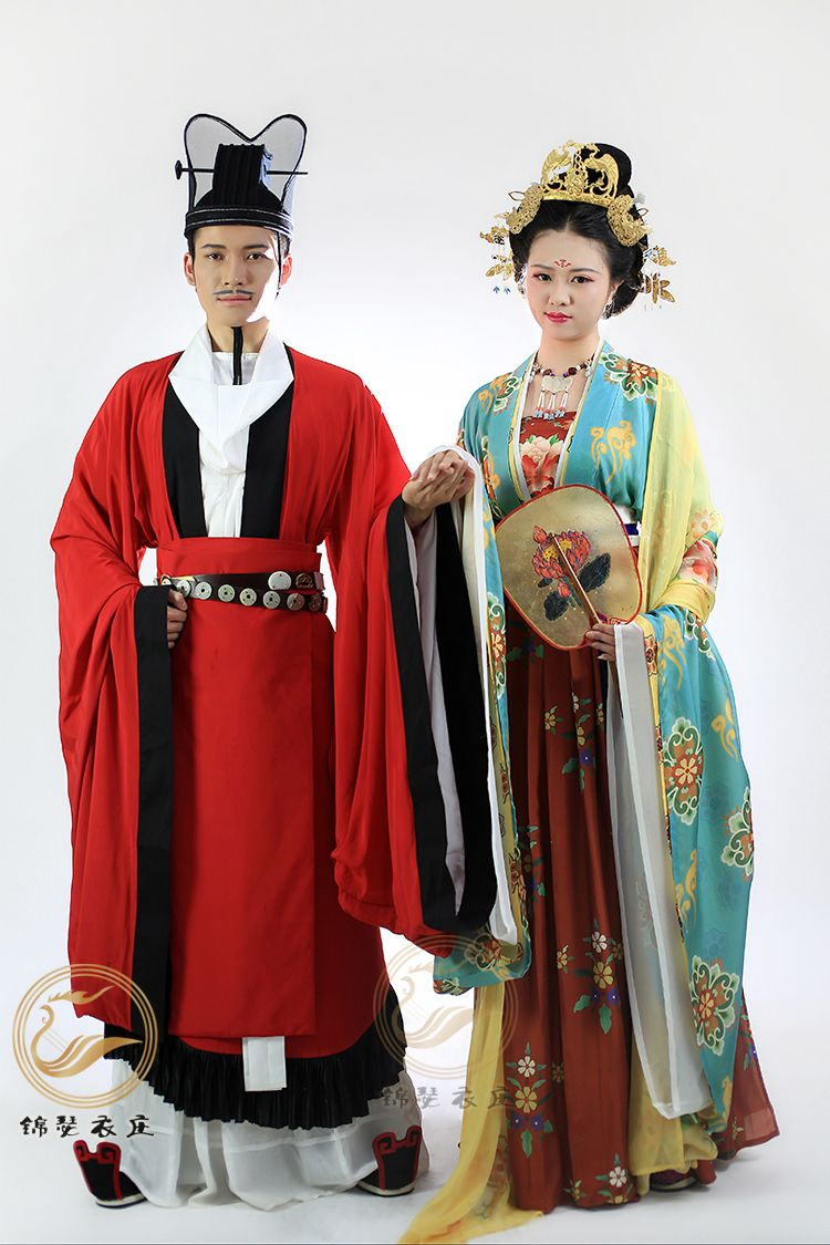 Traditional Asian Living Room: Sui-Tang-Song Dynasties Wedding Clothes