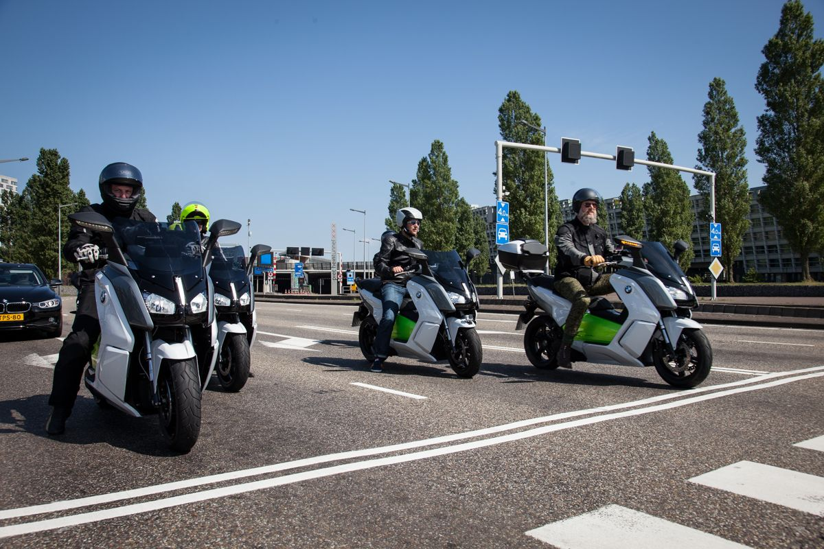 Ride the revolution - with the BMW C evolution. #urbanmobility