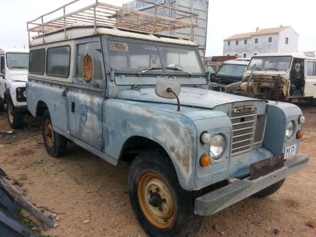 despiece santana 109 3 puertas - foto 2 | rusty / old | land rover