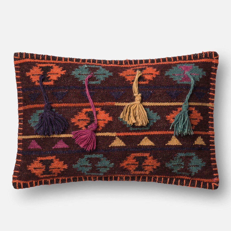Justina Blakeney Loloi Barro Throw Pillow Set Of 2 In 2020 Decorative Pillows Rustic Decorative Pillows White Decorative Pillows