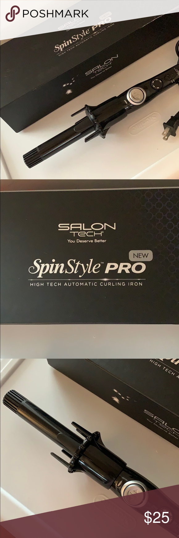 Spin Style Pro : style, Curling, Style, Automatic, Iron,, Curls