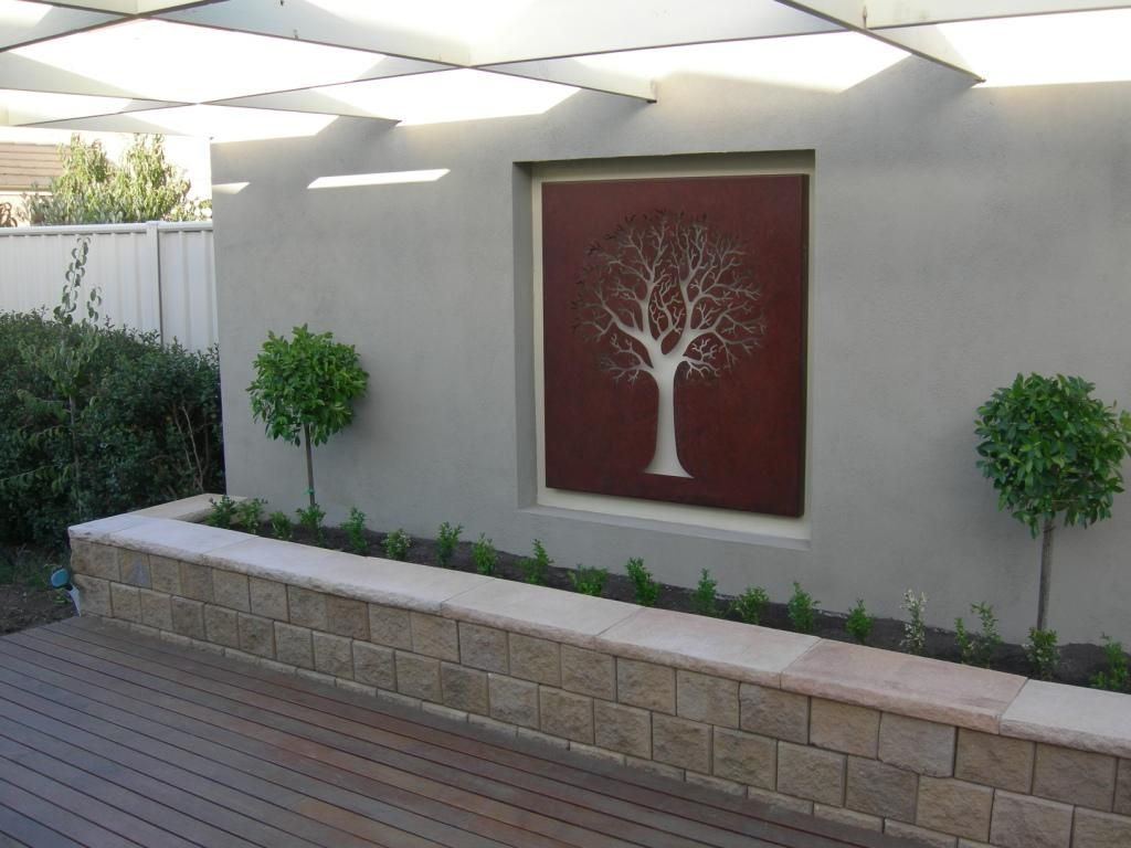 Garden Wall Ideas eye catching garden wall ideas Find This Pin And More On Garden Renovation