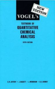 Free Download VogelS Textbook Of Quantitative Chemical Analysis