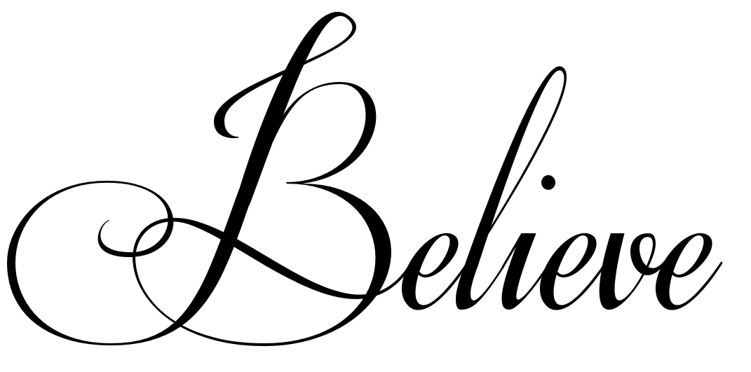 The Word Believe In Cursive | www.pixshark.com - Images ...