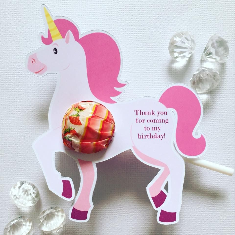Unicorn Party Favours Glitter And Glue Designs Unicorn
