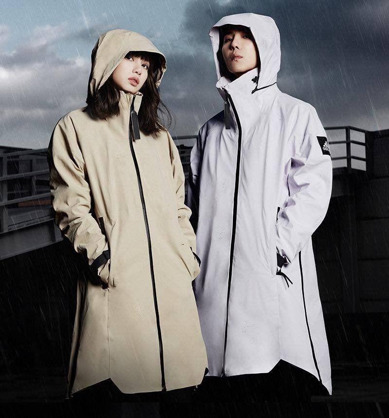 ENDORSEMENT] Lisa for Adidas MYSHELTER in 2020 | Raincoat