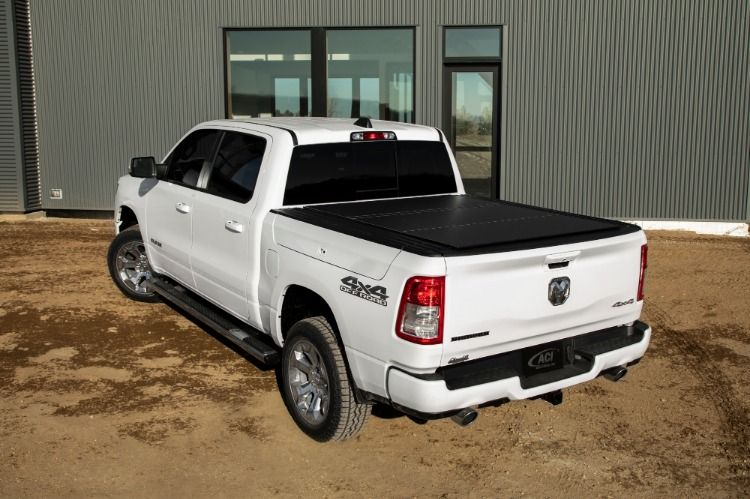 Take Your Cargo Management To The Next Level Lomax Hard Tri Fold Covers Are Now Available For 19 On Ram 1500 With Ra Truck Bed Covers Tonneau Cover Truck Bed