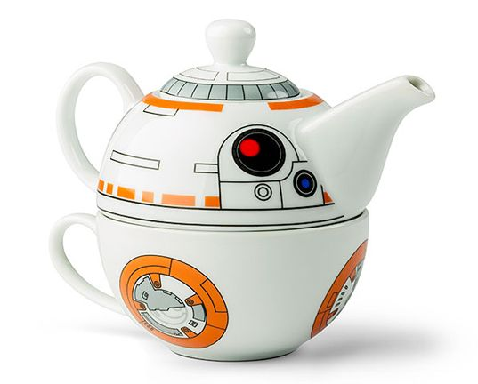 Star Wars fans will raise their pinkies for this BB-8 tea set  | Inhabitots
