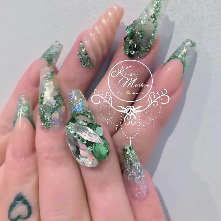 Untitled | Kirsty Meakin | Pinterest | Acrylic gel, Nail nail and ...