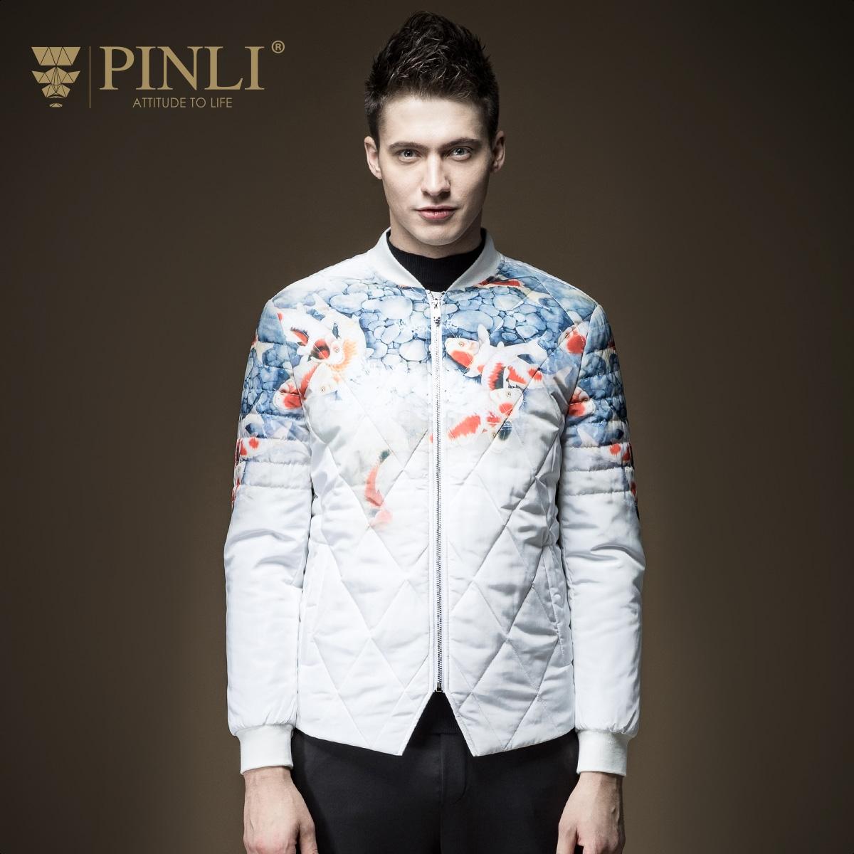 67.05$  Buy now - http://aliy17.worldwells.pw/go.php?t=32783079939 - Winter Jacket Men Real Acetate Regular Ruffled Pinli 2016 New Men's Baseball Coat Collar Male B164305201