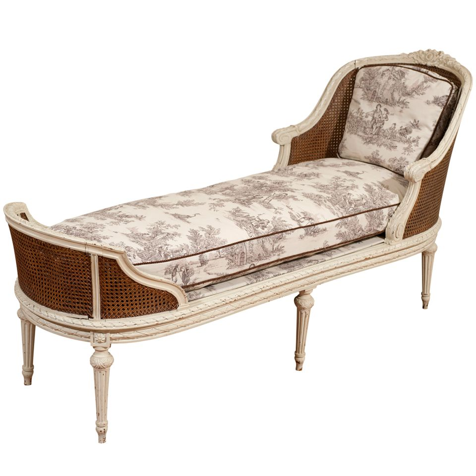 Chaise Style Louis 16 19th Century Louis Xvi Style Chaise Longue In 2019 Artists That