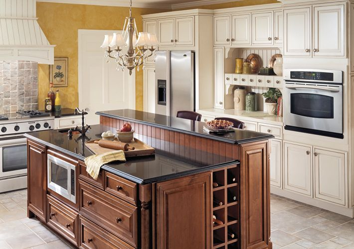 Shop Kitchen At Homedepot Ca The Home Depot Canada Kraftmaid Kitchens Quality Kitchen Cabinets Kitchen Island With Sink