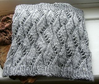 Crest of the Wave Cowl pattern by Deb Elen in 2020 | Lace ...
