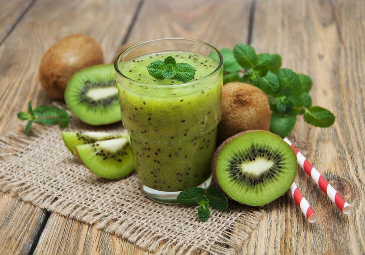 Smooth anticelulitic cu lămâie, ceai verde și kiwi