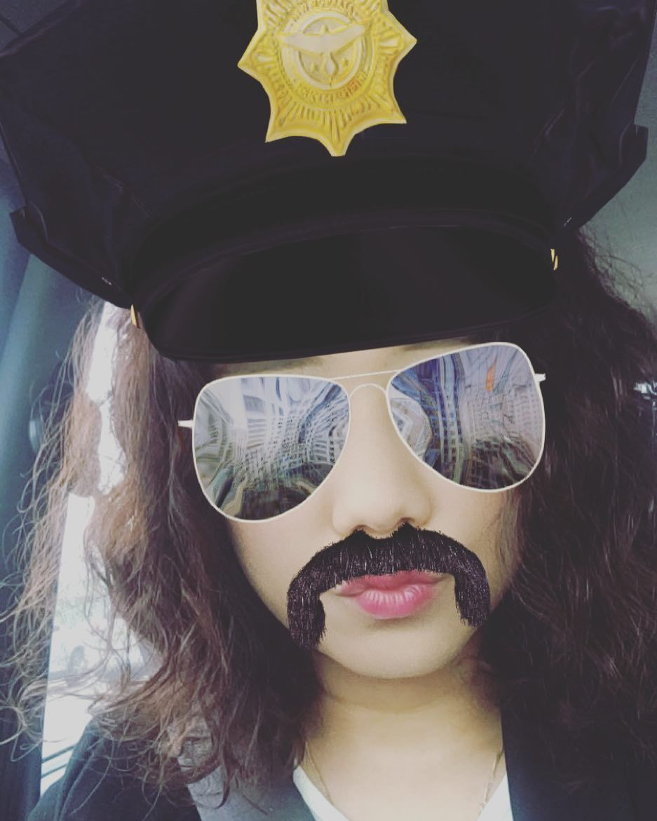 . Hey you! You are under arrest!  Smile guys and have a good weekend I love snapchat #2016#april#spring#saturday#weekend#behappy#smile#funny#selfie#snapchat#lol#policeofficer#yeah#instagram#instadaily#주말#웃어요#셀피#셀카#스냅챗#일상스타그램 by newmoon_32