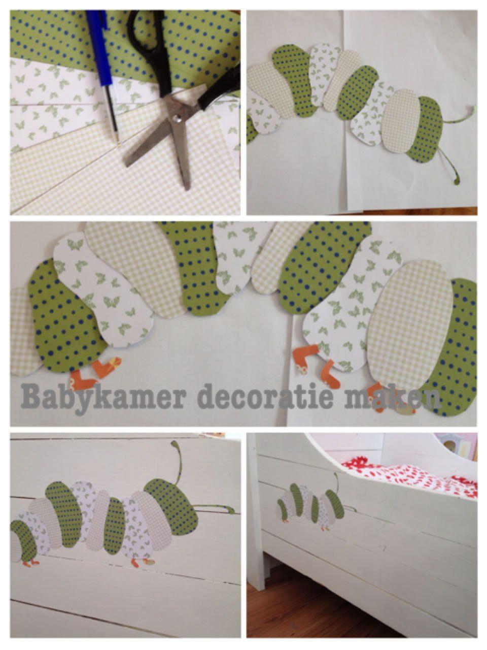 Fonkelnieuw Zelf babykamer decoratie maken een rupsje! (met afbeeldingen SM-85