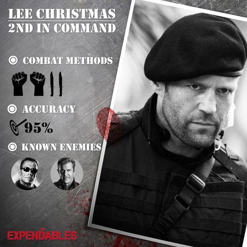 Lee Christmas, trained killer, knife combat specialist and 2nd in ...