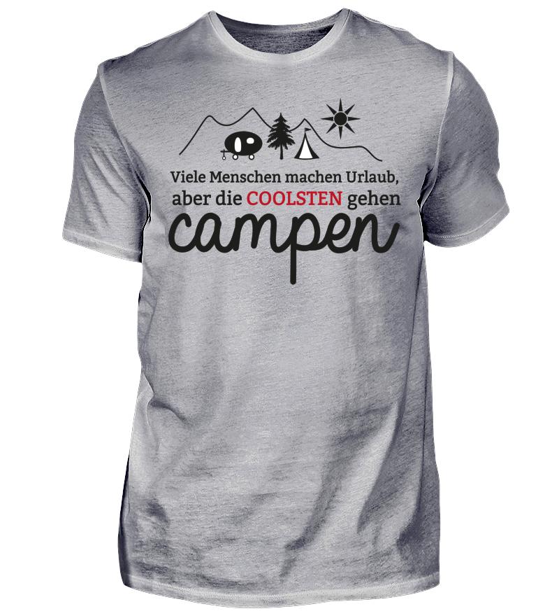 c66158208b71d4 Camping T-Shirt  Viele Menschen machen Urlaub