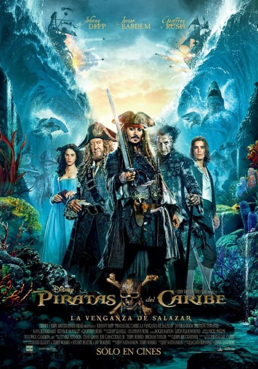 Pirates Of The Caribbean Dead Men Tell No Tales Will Turner Pirates Of The Caribbean Dead Man Tell No Tales New Spanish Movie Poster Pirates Of The Caribbean Free Movies Online Dead Man