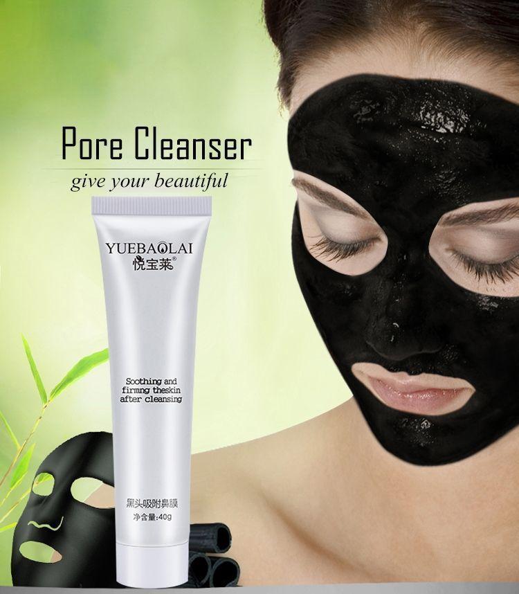 Black Mask 40g Blackhead Remove Nose Charcoal Mask Black