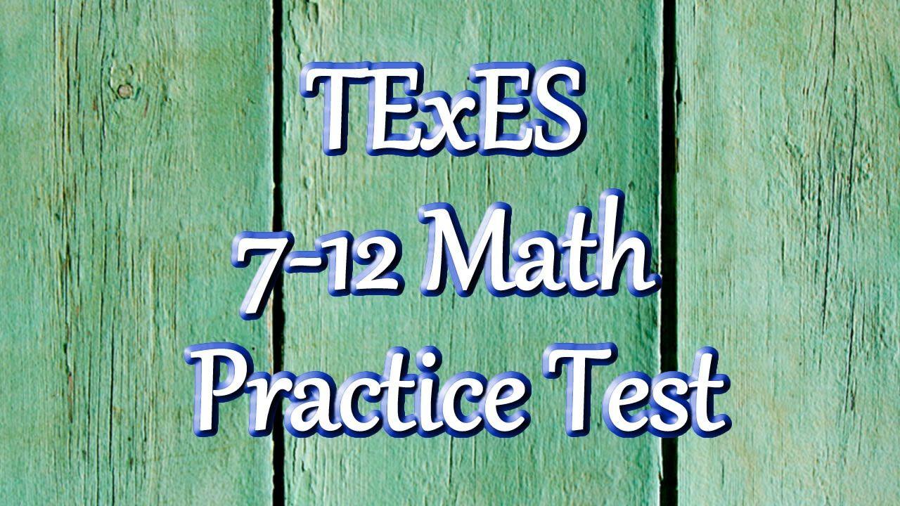Free texes 7 12 math 235 exam practice test texes study guides free texes 7 12 math 235 exam practice test xflitez Choice Image
